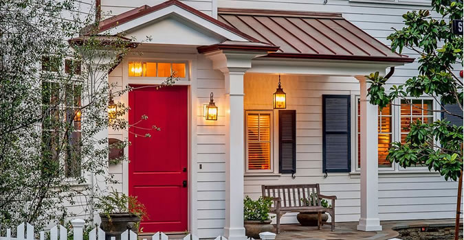 Exterior High Quality Painting Houston Door painting in Houston